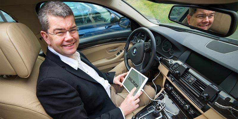 Informatik-Professor Andreas Zeller von der Universität des Saarlandes hat eine Software entwickelt, die eine Vielzahl unterschiedlicher Programme automatisch testen kann. Foto: Oliver Dietze