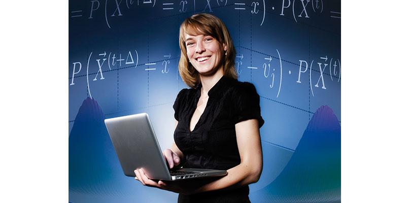 Verena Wolf, Professorin für Modellierung und Simulation an der Saar-Uni