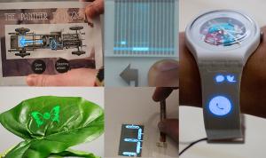 PrintScreen ermöglicht es, berührungsempfindliche und papierdünne Bildschirme in beliebiger Form auf verschiedenste Materialien zu drucken.