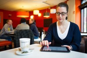Die Software der Saarbrücker Informatiker deckt Datendiebstähle auf mobilen Endgeräten auf. Foto: Oliver Dietze