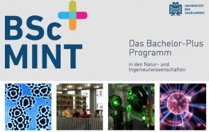 """Das vierjährige Programm """"Bachelor-Plus-MINT"""" kombiniert Inhalte aus den Fächern Chemie, Biophysik, Physik, Informatik, Mathematik, Mechatronik und Material- und Werkstoffwissenschaften.  Foto: Webseite Bachelor-Plus-MINT"""
