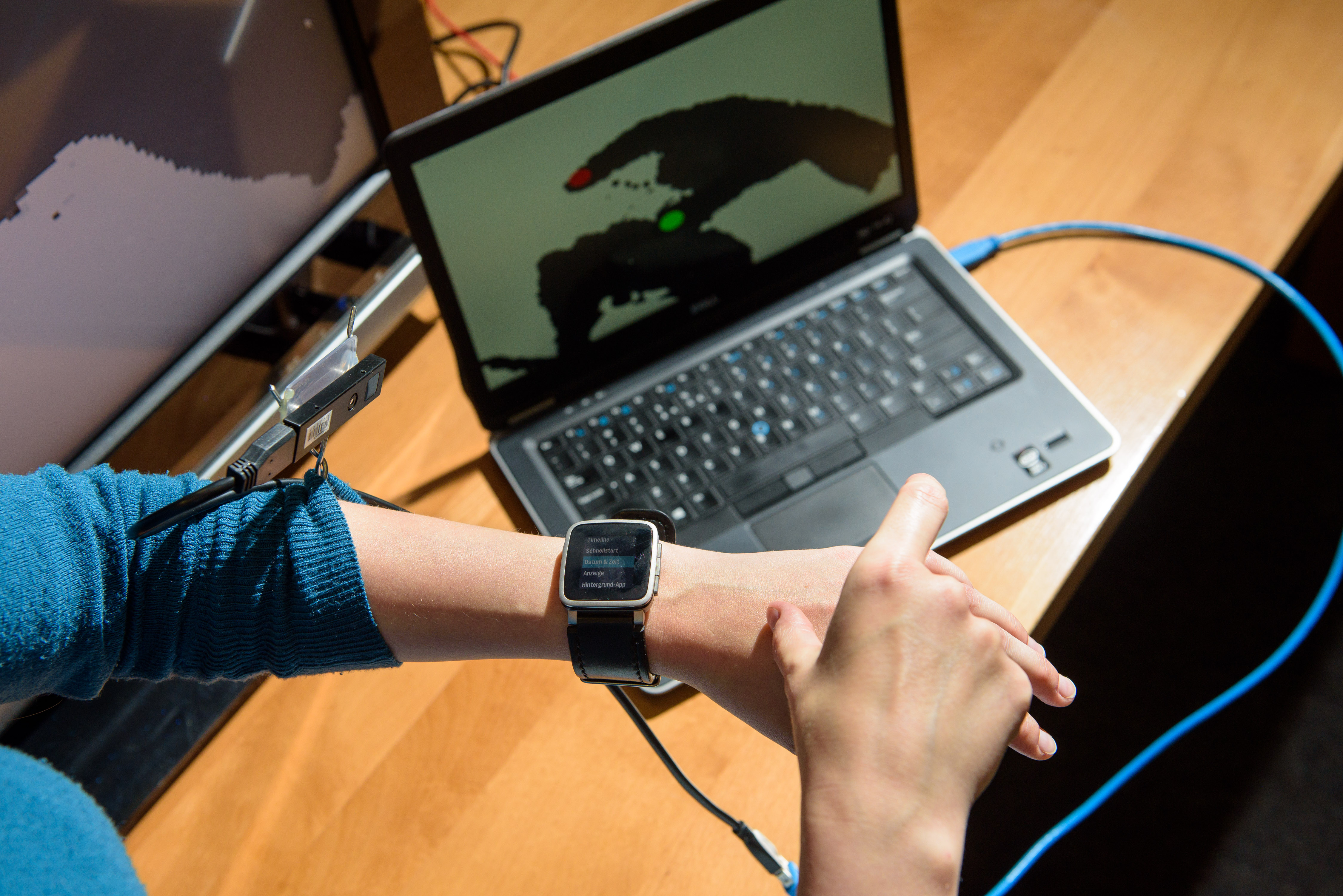 Neue Steuerung für Smartwatch, Smartphone und Smart TV