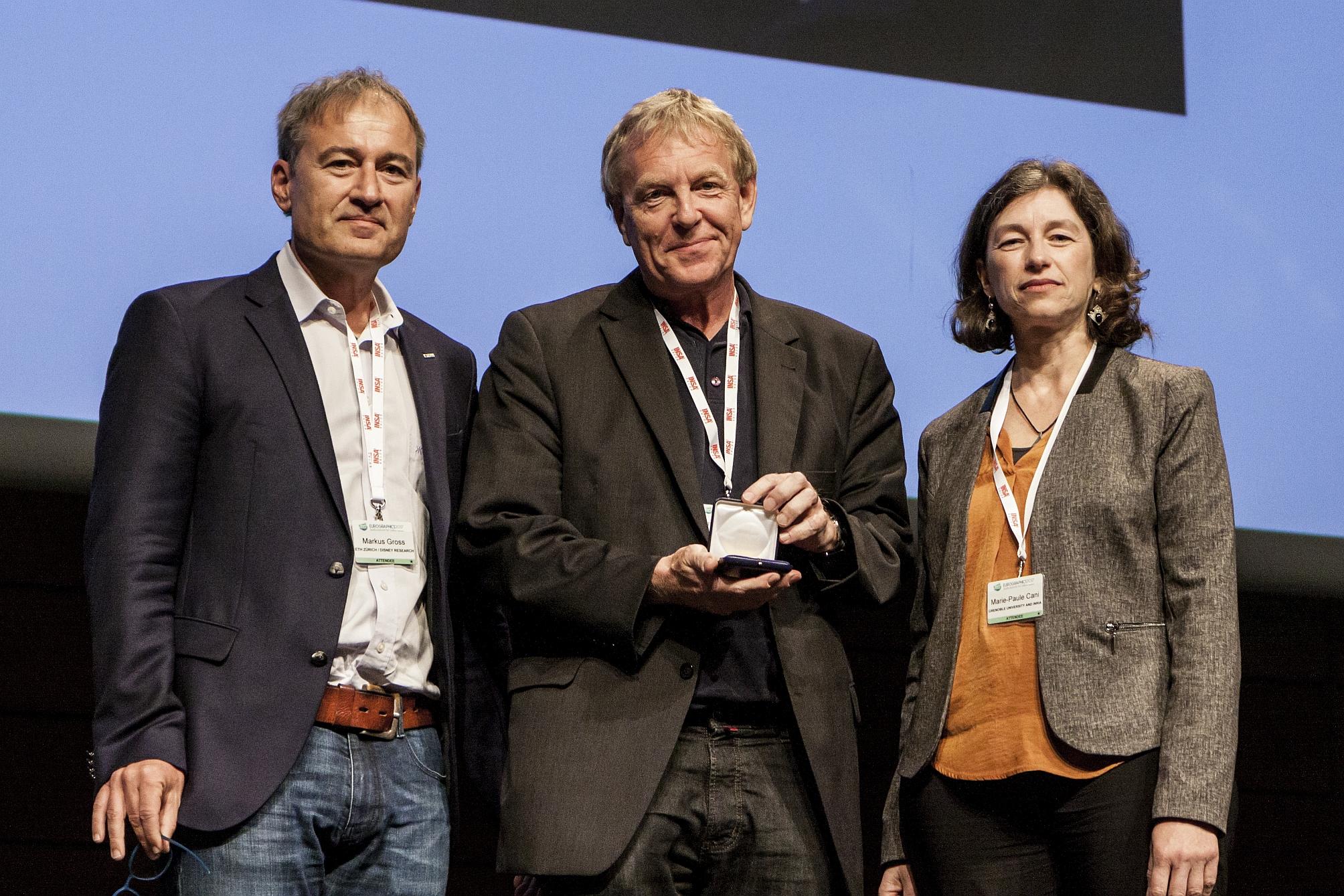 Eurographics-Medaille in Gold für Professor Hans-Peter Seidel